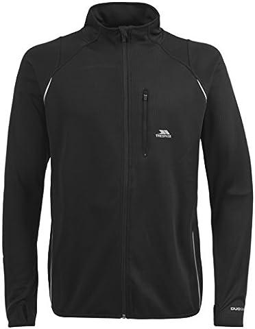 Trespass Whiten Veste de sport Homme Noir FR : M (Taille Fabricant : M)
