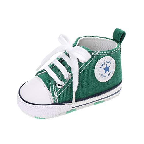 Auxma Niedlich Kind Baby Säugling Junge Mädchen weiche Sohle Kleinkind Schuhe Leinwand Sneak (12-18 Monat, XX)
