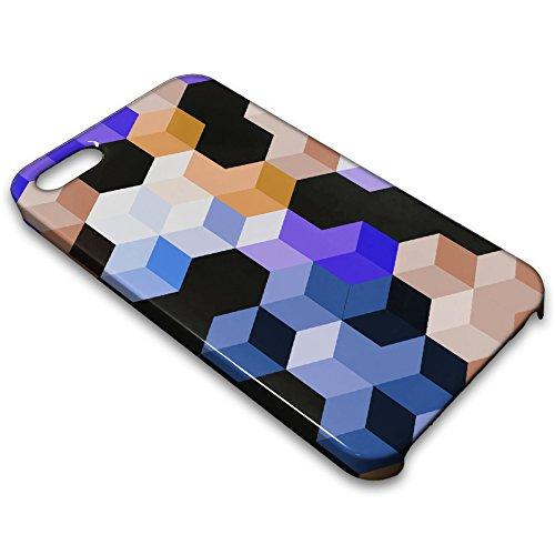 farmygadget Coque Case Étui Impression Complète type cubes pour Smartphone Apple 00017b