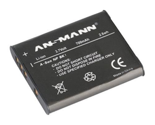 Np Bk 1 Batterie (Ansmann 5044833 A-Son NP BK1 Li-Ion Digitalkamera Ersatzakku 3,7V / 700mAh für Sony Digitalkameras)