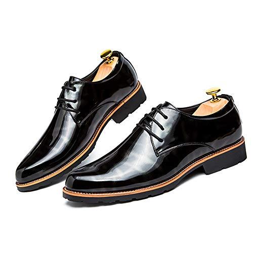 HILOTU Zapatos De Vestir Hombre Elegantes Zapatos