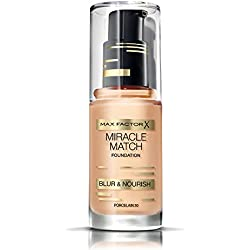 Max Factor Miracle Match Foundation Porcelain nº 30, 30 ml
