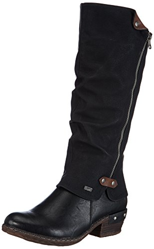Rieker 93655 Damen Langschaft Stiefel