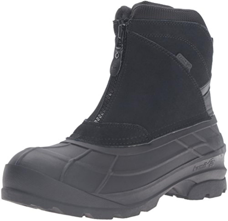 Kamik Men's Champlain2 Snow Boot  Black  10 M US