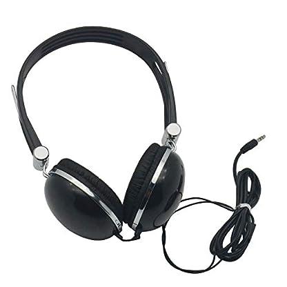 WONNIE-Kabelloser-Extra-Bass-Kopfhrer-weiche-On-Ear-Ohrpolster-hohe-Gute-Schallisolierung-Schwarz