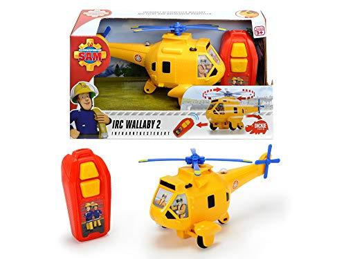 feuerwehrmann sam helikopter Dickie Toys 203093004 Feuerwehrmann Figur, Gelb