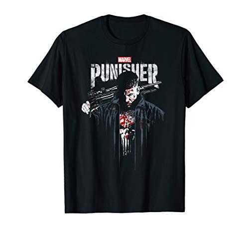 Marvel The Punisher Frank Castle Vigilante T-Shirt -