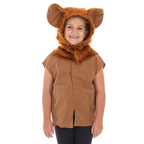 Unbekannt Charlie Crow Löwe Kostüm Für Kinder - Einheitsgröße 3-8 ()