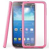 moex Samsung Galaxy S4 Active | Hülle Slim Transparent Rosa Impact Back-Cover Dünn Schutzhülle Silikon Handy-Hülle für Samsung Galaxy S4 Active Case TPU Tasche Matt
