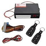 Vankcp - Candado Central para Coche, Sistema de Alarma de Entrada sin Llave, Mando a Distancia automático con...