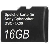 32GB Speicherkarte für Sony Cyber-shot DSC-TX30