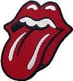 Estes. EL Patch Stickers T-shirt Pull Accessoires Sangle de poitrine Chaussures Accessoires Patch brodée 1 Forma De La Lengua Roja