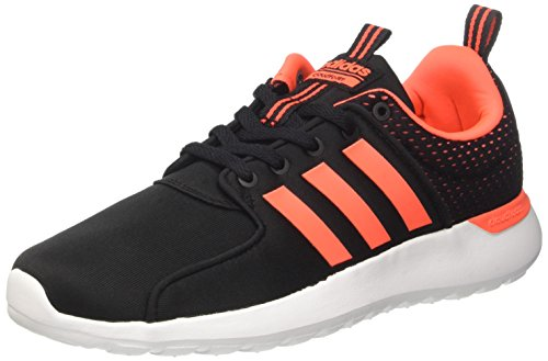 adidas CF Lite Racer, Chaussures de Running Homme, Multicolore (Core Black/Solar Red/FTWR White), 43 1/3 EU