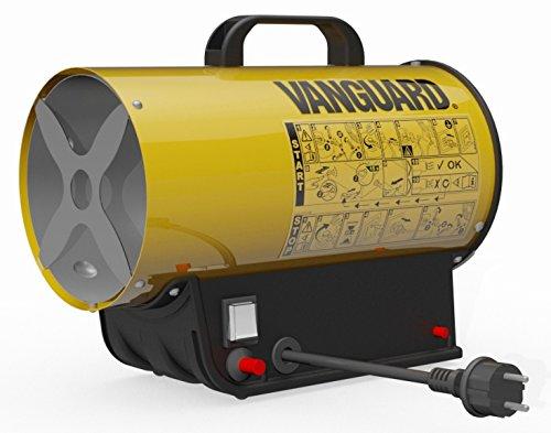 Générateur d'air chaud Au gaz propane/butane Convecteur portable en forme de canon Pour extérieur ou milieux ouverts 10,5 kW jaune