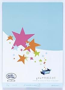 Lalo - Correspondance, emballage - G.Lalo - 20 Feuilles A4 Lagon 170 g