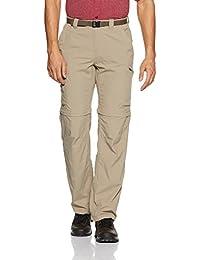 """Columbia Silver Ridge Convertible Pant - Pantalón para hombre, color beige, talla XXL/ FR 50 (Talla fabricante 40/32"""")"""