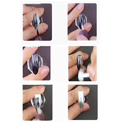rawdah Nail Spiegel Puder Art DIY Make Up Chrom Pigment - Usa Nail Supplies Art