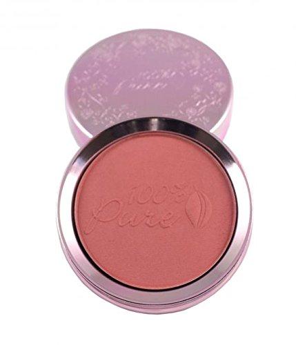 100% pure cosmétique naturel Fruit pigmen Ted Blush Berry, Net Wt. 0.32 oz/9 g
