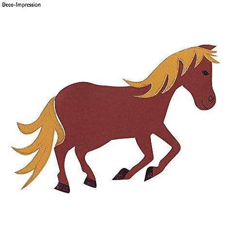RAYHER 7134700, Bastelset Schultüten-Verzierung, Motiv Pferd