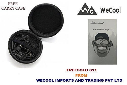 e40f5db4124 FREESOLO S11 Wireless Bluetooth 4.1 in-Ear Noise Isolating Sport Earbuds  with Mic and Controller ...