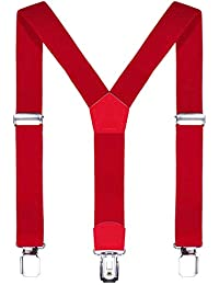 DonDon niños tirantes 2 cm estrecho longitud ajustable para una altura de 80 cm a 110 cm o sea 1-5 años