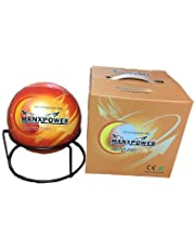 Manxpower Auto Fire Off Platinum Fire Ball, Fire Extinguisher (150 mm Diameter, Red and Yellow)
