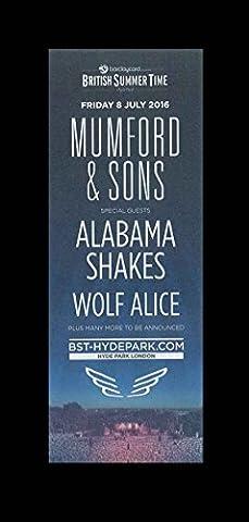 British Summer Time 2016 - Mumford & Sons Alabama Shakes