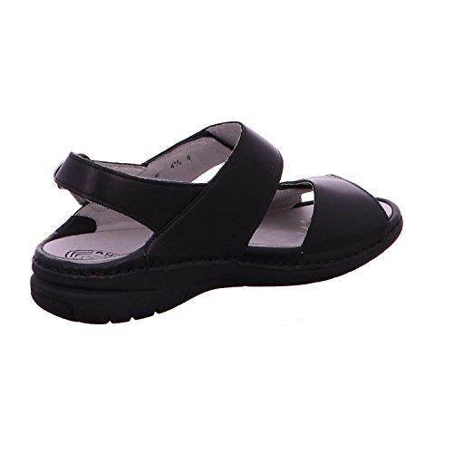 Waldläufer memphis 204001 186 001 confort sandales femme Schwarz