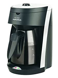 Morphy Richards 47001  Filter Coffee Maker Graphite