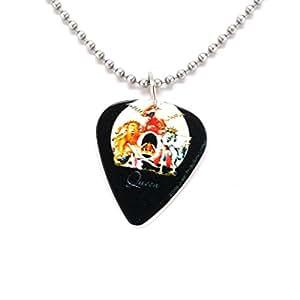 Reine queen collier avec pendentif médiator musique rockmusik britannique freddie mercury album