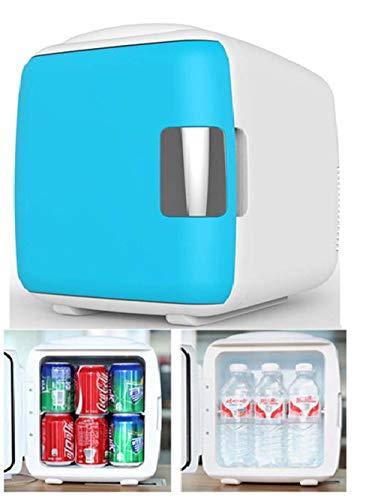 Gas-single Kühlschrank (Qiutianchen Mini-Kühlschrank/Single Door/Home/gekühlt/gefroren/klein/Schlafsaal/Auto Kühlschrank Gefrierschrank/Mini/kalt/tragbar/Camping/Heizung@9L blau)