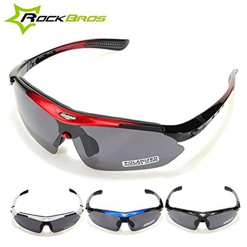 Bazaar RockBros polarisierte Radfahren Fahrrad Sonnenbrille Glas Schutzbrillen