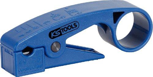 Preisvergleich Produktbild KS Tools 115.1243  Abisolierwerkzeug Koa x ialkabel, 7.5 mm