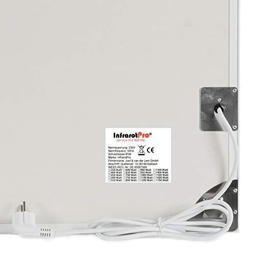INFRAROT-HEIZUNG Preisreduziert 600W- 60×100 cm-Bild-Heizung Heiz-Panel Elektro-Heizung Bild 5*