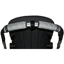 Tris&Ton Fundas empuñaduras horizontal doble, empuñadura funda para silla de paseo cochecito carrito carro (