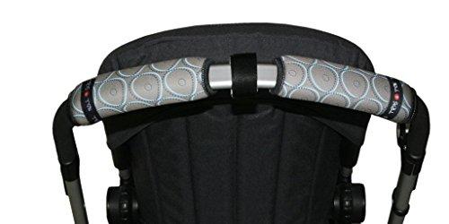 Tris/&Ton Fundas empu/ñaduras horizontal doble Modelo Monkey rayas empu/ñadura funda para silla de paseo cochecito carrito carro Tris y Ton