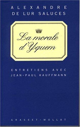 La Morale d'Yquem