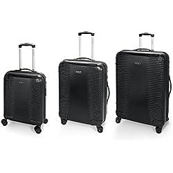 Gabol balance juego de 3 maletas: cabina, mediana y grande