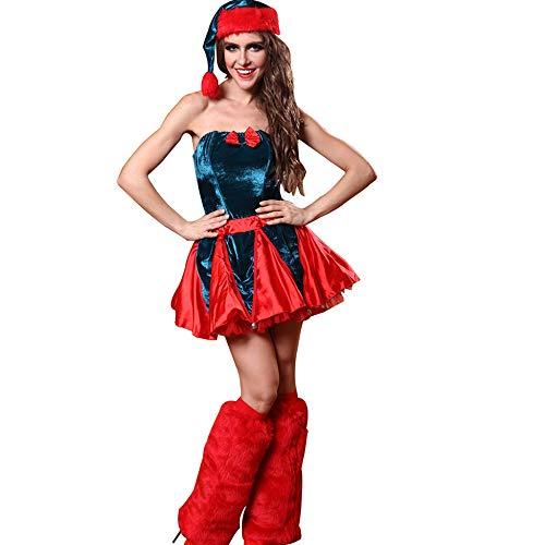 stüm Kostüm Sexy Cosplay Weihnachtsfestival Kostüm Erwachsene Prinzessin Bühnenbild ()
