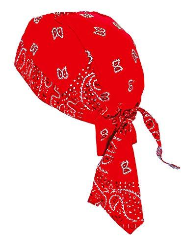 memego Bandana Cap Kopftuch Muster Rot