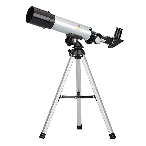 GEERTOP 90X Linsenteleskop Einstiegslevel Refraktorteleskop, 360×50 mm, für Kinder Himmelbeobachter & Vögel beobachten