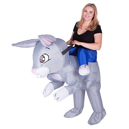 Imagen de hinchable adulto disfraz conejo  alternativa