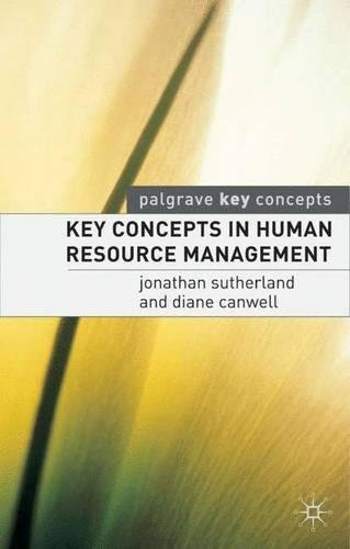 Key Concepts in Human Resource Management (Palgrave Key Concepts)