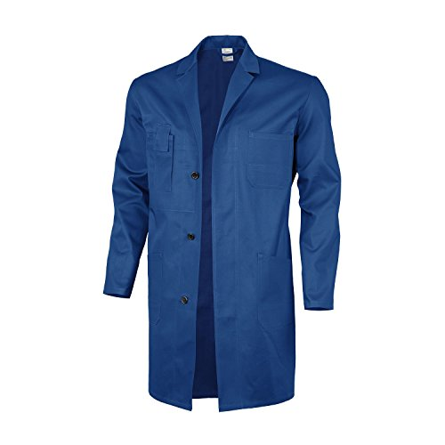 Qualitex Berufsmantel-Basic 100% CO 240 G/M² Farbe Kornblau Größe 42