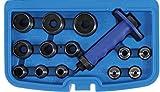 BGS 566   Locheisen-Satz   14-tlg.   5 - 35 mm  inkl. Kunststoff-Koffer   Lochstanzen-Set   Stanzeisen   Stanz-, Loch-Werkzeug