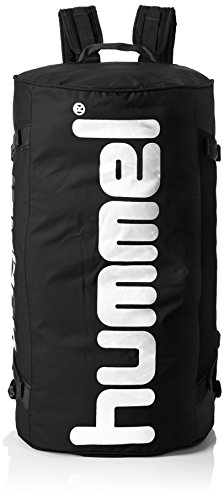 Hummel Tasche TECH SPORTS BAG, Black/Silver, 60 x 27 x 34 cm, 54.5 Liter, 40-961-2250