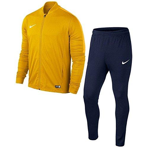 Nike Academy16 Knt Tracksuit 2-Tuta sportiva, M, Dorado / Negro / Blanco