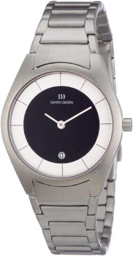 Danish Design 3324360 - Reloj analógico de cuarzo para mujer con correa de acero inoxidable, color plateado