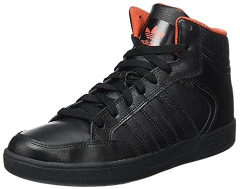 Adidas Varial Mid, Baskets Hautes Homme, Noir (Core Black/Core Black/Native