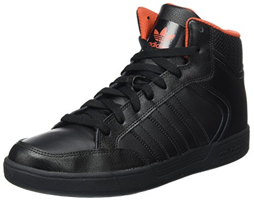 save off 5ad9f 3244e adidas Unisex Adults  Varial Mid Skateboard Shoes, Weiß, Black (Core Black